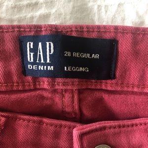 The Gap Rose Denim Legging